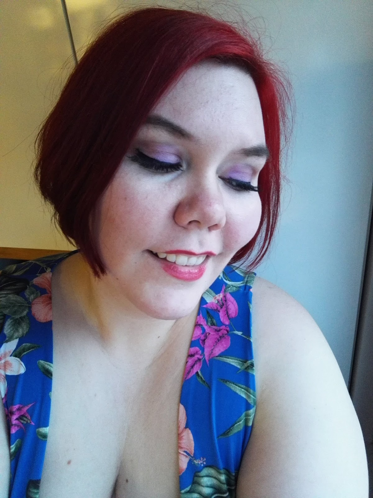 5c6dc85fa26 I've used Eylure lashes before, and I've always really liked the quality.  This time I tried the Eylure Texture 117 lashes. These are great because  they ...
