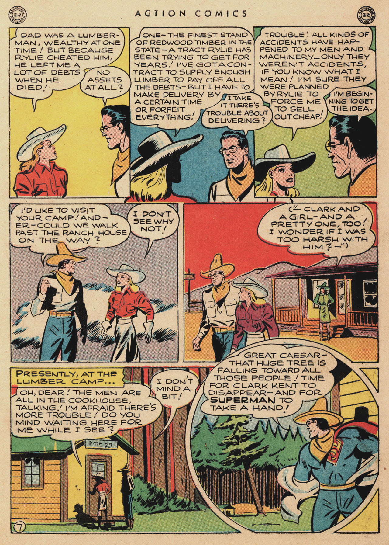 Read online Action Comics (1938) comic -  Issue #94 - 9