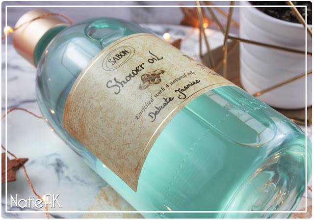 Huile de douche (shower oil) Délicat Jasmin de Sabon