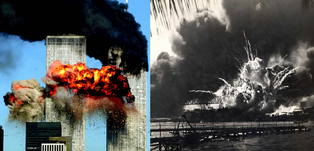 pearl harbor and 9 11 On december 7, 1941, the united states naval base at pearl harbor, hawaii was attacked by the japanese navy, bringing about the us entry into the second world war.