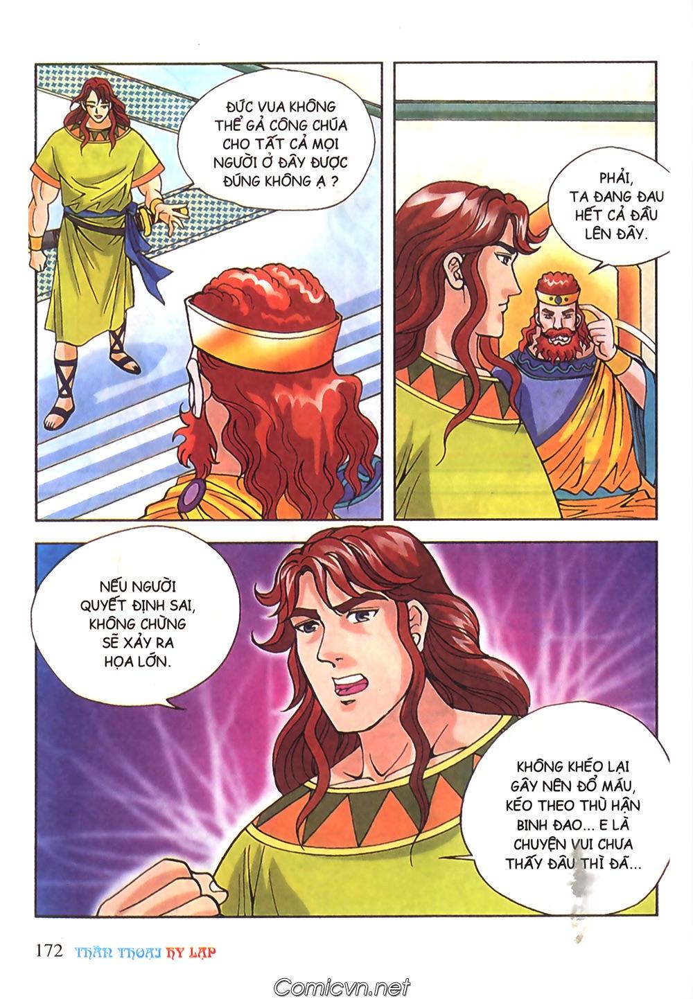Thần Thoại Hy Lạp Màu - Chapter 51: Nàng công chúa Helen - Pic 11