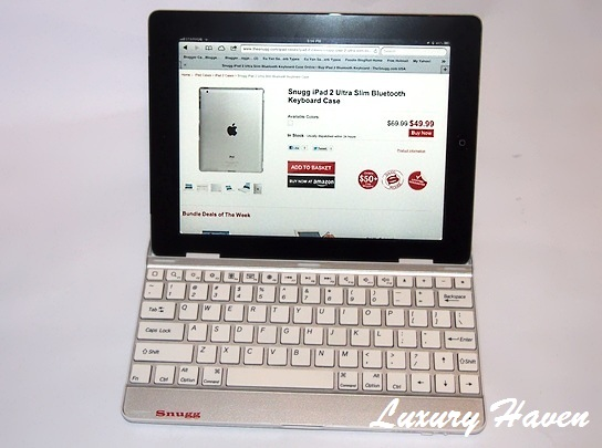 snugg ipad ultra slim bluetooth keyboard case review