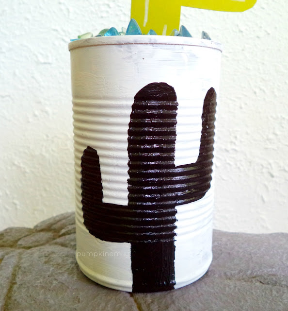 Cactus Tin Can