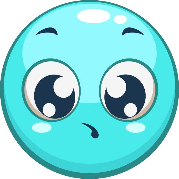 Aqua Smiley