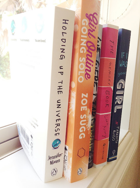 5 Recent Reads Windowsill