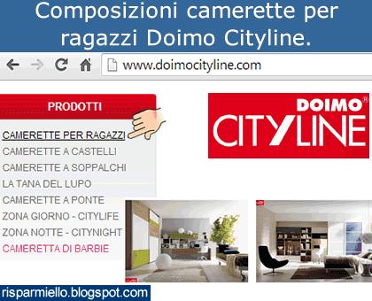 Doimo Cityline Camerette Prezzi.Risparmiello Camerette Per Ragazzi Doimo Cityline Catalogo Prezzi