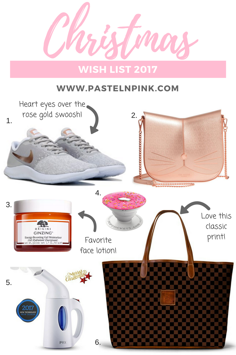 pastel n pink my christmas wishlist
