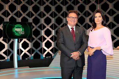 O Ministro e Débora (Crédito: Lourival Ribeiro/SBT)