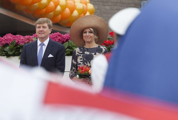King Willem-Alexander and Queen Maxima visit the province of Gelderland during their tour through the Netherlands as new King and Queen