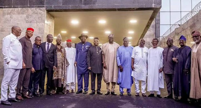 [REVEALED] What Southern Governors Discussed In Lagos