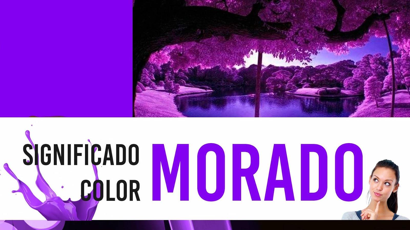 ¿Qué Significa El Color MORADO? Significado Y Definición