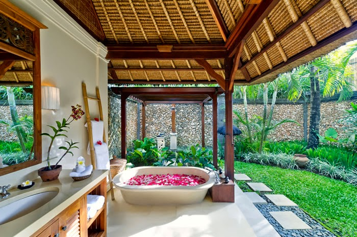 bathrooms bali design