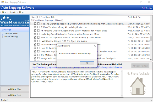 Download AutoBlog Samurai Pro Software Cracked