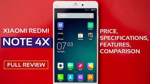 XiaoMi Redmi Note 4X Reviews, Features and Price