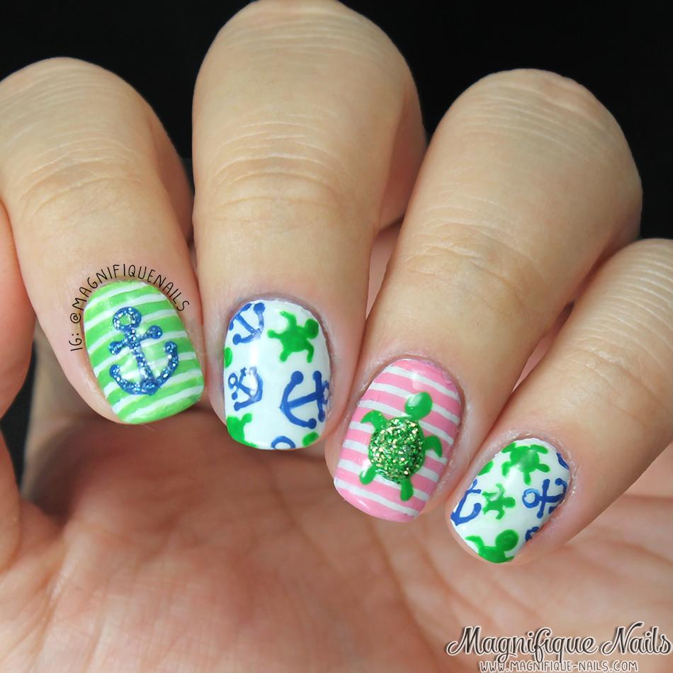 Magically Polished |Nail Art Blog|: Summertime Nails