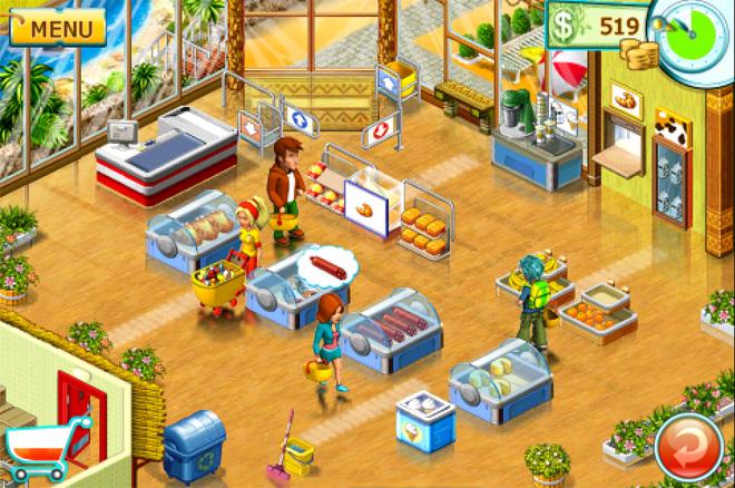 تحميل لعبة supermarket mania 2 من ميديا فاير