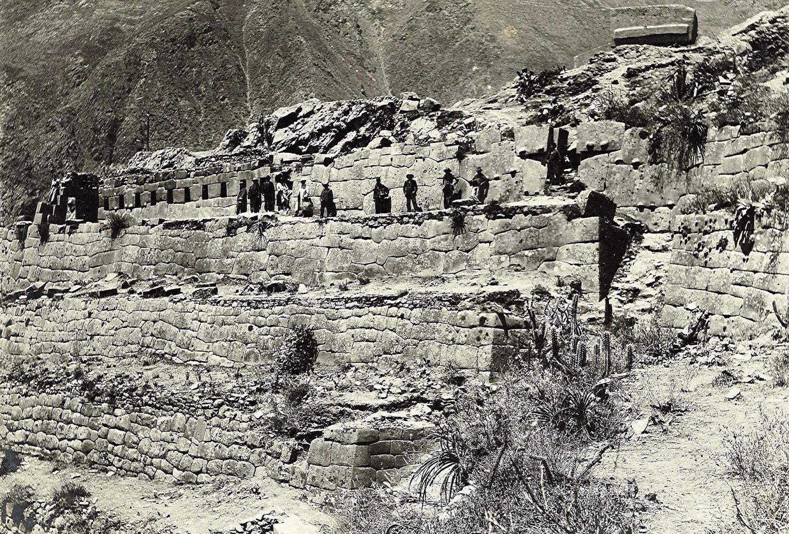 Fotos antiguas de Ollantaytambo