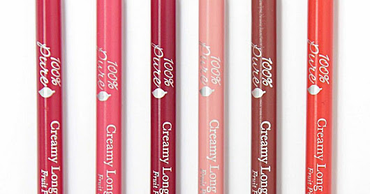 COMING SOON | 100% Pure Creamy Long Last Lip Liners