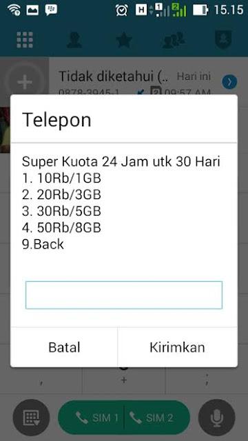 Paket Internet Telkomsel murah Super Kuota