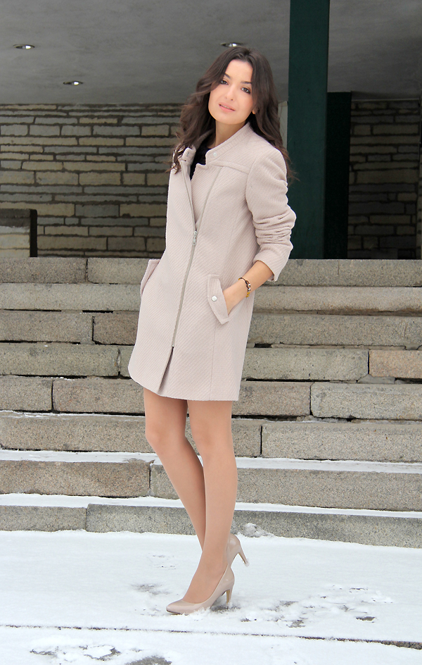 Next nude coat