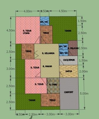 Desain Rumah Minimalis Desain Rumah Minimalis X Meter