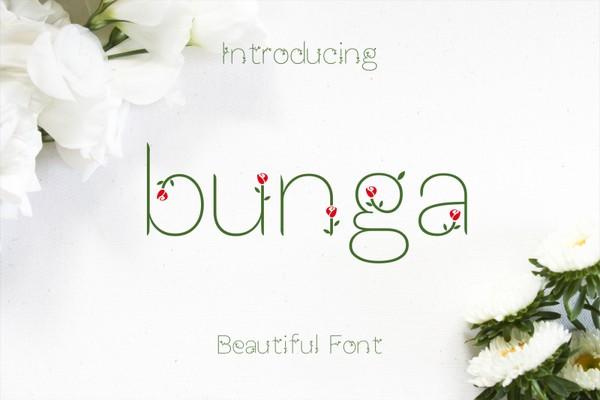 Bunga Font