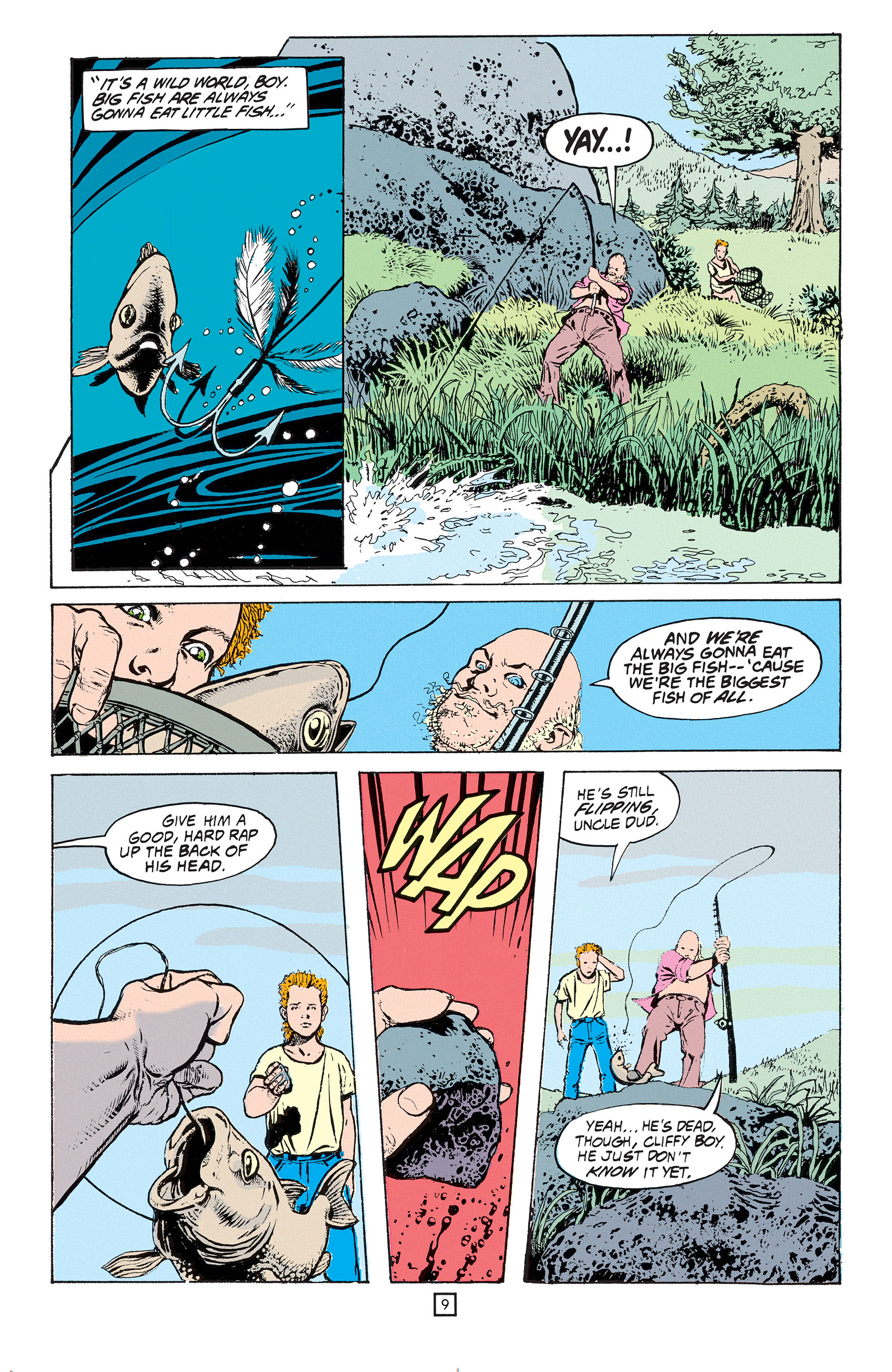 Read online Animal Man (1988) comic -  Issue #53 - 10
