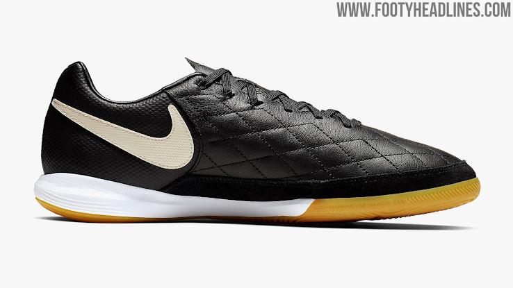 a4e77fcbb8f Stunning Black Nike Tiempo Ronaldinho 2019 Boots Released - Footy ...