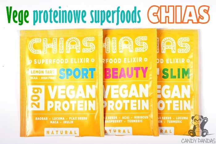 Chias superfood elixir, vegan protein – Chias