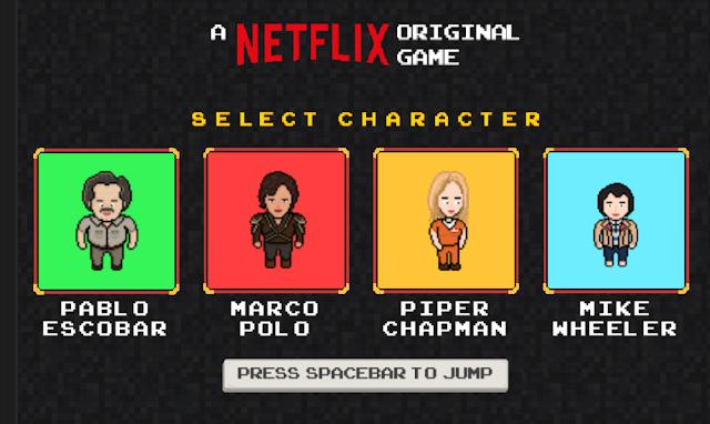 Netflix crea su propio videojuego con sus series como protagonistas