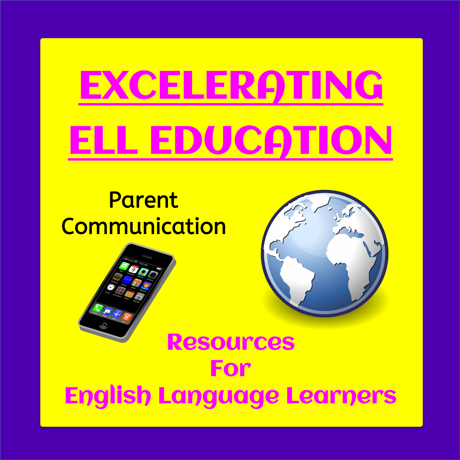 10 tools you can use to easily communicate with the families of ELL students, plus more resources in a linky party. | The ESL Connection