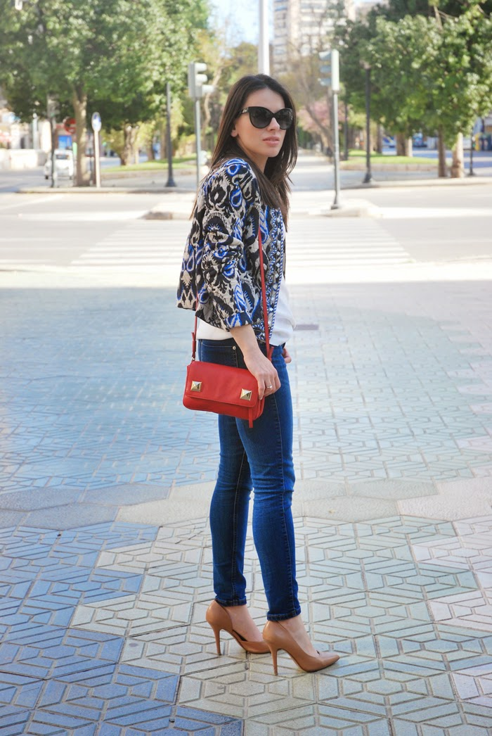 Jeans and Ethnic Jacket