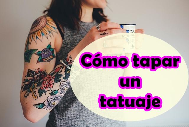 5 Productos de maquillaje para cubrir tatuajes facilmente