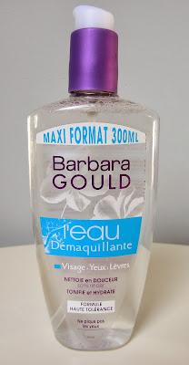 eau démaquillante Barbara Gould