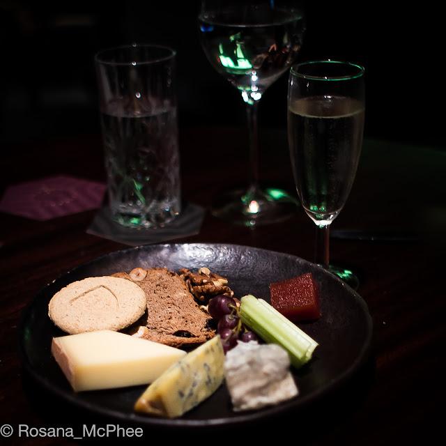 Quaglino's London brunch, cheese board