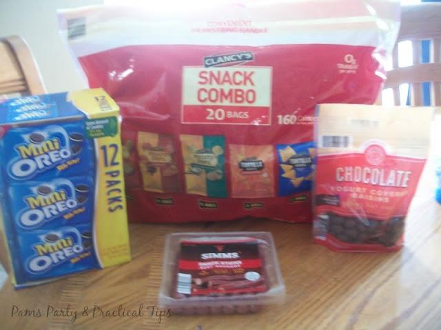 Take snacks when traveling