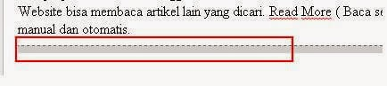 Cara Membuat Read More Manual di Blogger