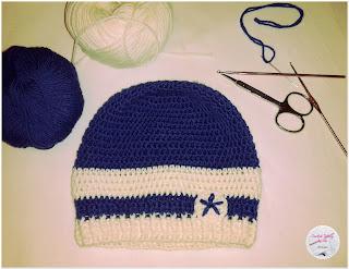 berretto di lana step10