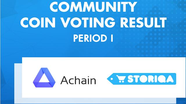 Achain (ACT) dan Storiqa Token (STQ) Hadir di Market Indodax sebagai Pemenang Community Coin Voting Periode I Indodax