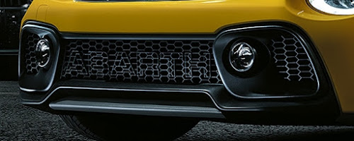 2017 Abarth 595 Front Grille