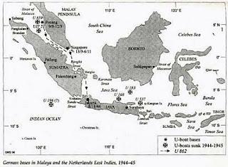 Peta Masuknya Jerman ke Nusantara