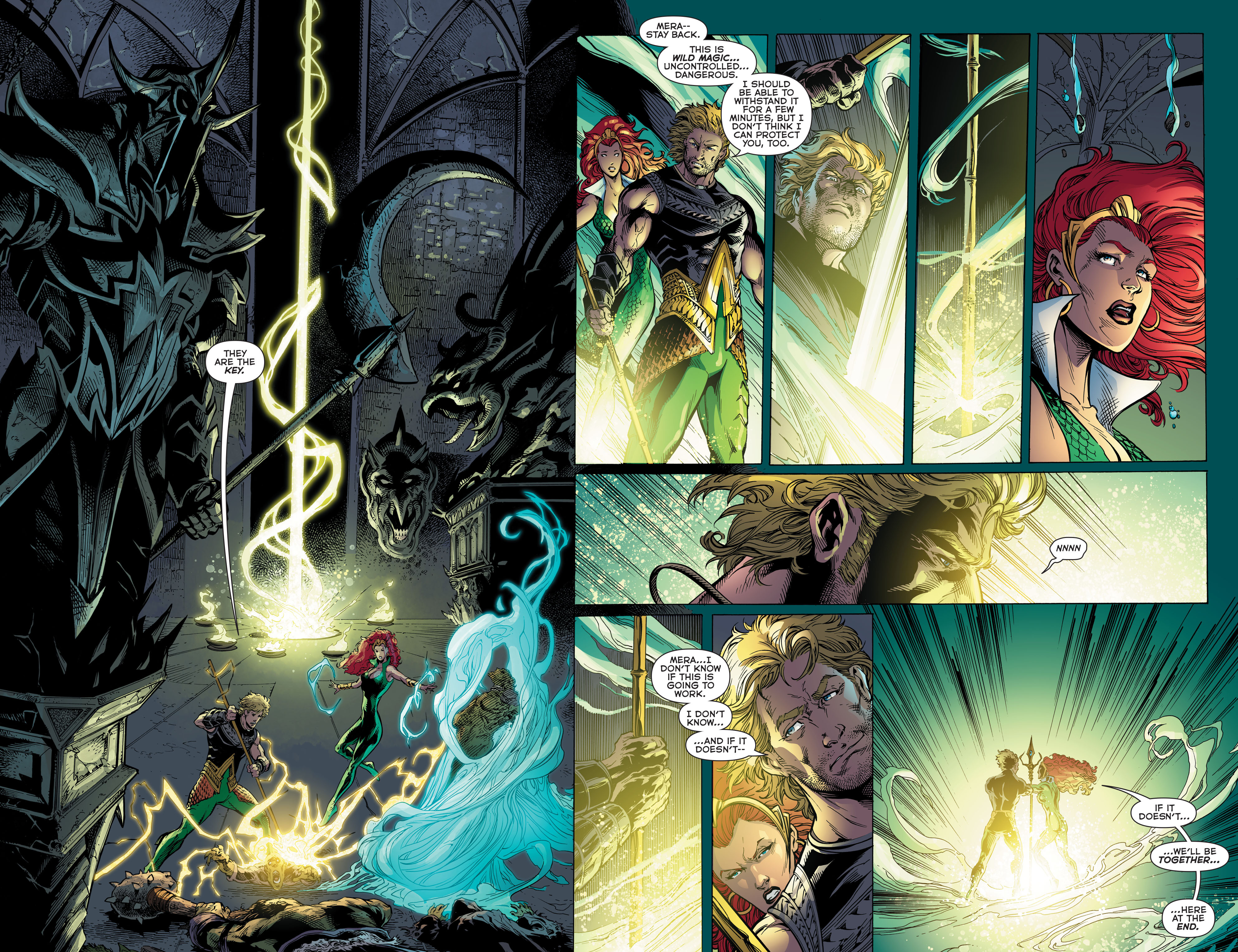 Read online Aquaman (2011) comic -  Issue #48 - 16