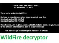 Wildfire decryptor расшифровка .wflx