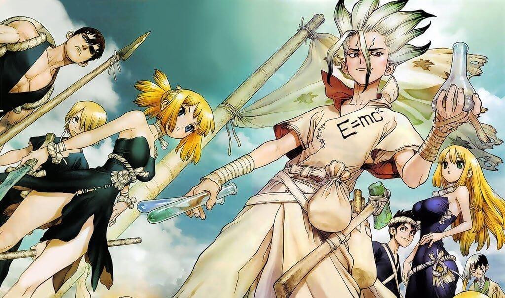 Download Movie Via Mediafire Anime Dr Stone Dr Stone Episode 01 21