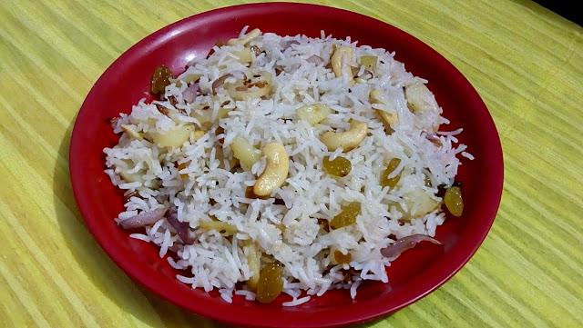 Pulao- onion potato