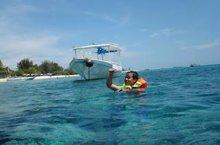 snorkling di Gili Trawangan