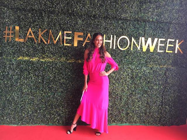 Lisa Haydon Lake Me Fashion Week