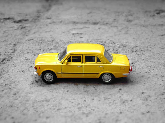 Hotwheels Old School Yellow Car