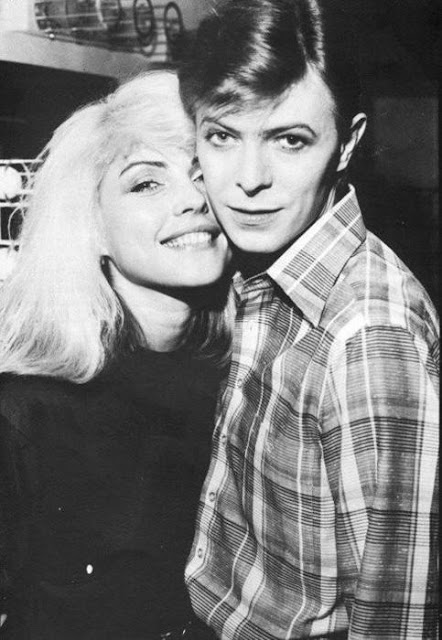 Debbie and David Bowie