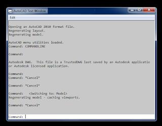 comandos utilizados no arquivo